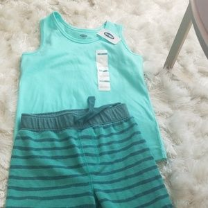 Boys shorts and tank top shirt